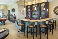 Poplar Glen Clubhouse Bar Area